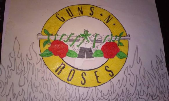 Guns N Roses by ymrtc555602