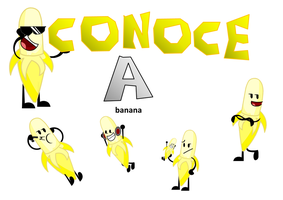 Conoce A Banana by kirbycraft