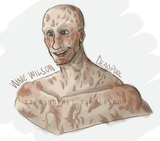 Wade Wilson - 01 by issabissabel