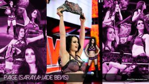 WWE DIVA PAIGE WALLPAPER HD by dave2704