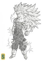 Trunks AF ssj3 by bloodsplach