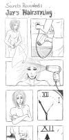 Jay's hairstyling secret by Sferath