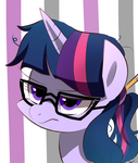 twilight with glasses! by SION-ARA