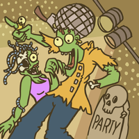 Party Zombies by Starflier