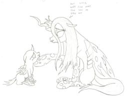 Dont worry little one by The-Laughing-Horror