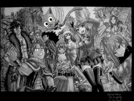 fairy tail by 69dragonz