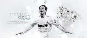 Header Mesut Ozil by shad-designs