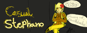 Casual, Impatient Stephano.... by BeforeTheMomentGirl