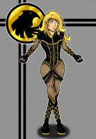 Black Canary by Flash-of-Lingt