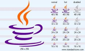 Java Icon by standard-admin-icons