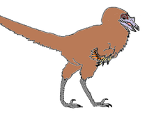 The Dinosauroid by Cephlaken