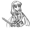 FE: RD - Quick Mist Sketch by hasukerz