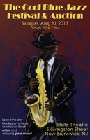 Jazz Festival Poster by Vahlre