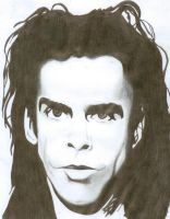 Nick Cave by Trisstam