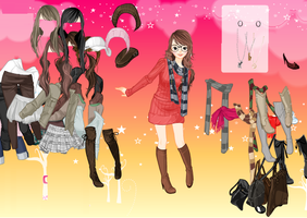 Skirts and Scarves - Dress up Games by willbeyou