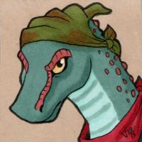 Commission -Cura-Ocllo Icon by Viccinor