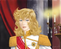 Lady Oscar - Le Capitaine by Bradamante68