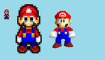 MLSS Mario's SM64 Color Palette by KingAsylus91