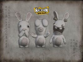 3 Rabbids by cibiboi