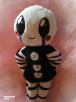 Handmade FnaF Plushie - Chibi Puppet by HipsterOwlet