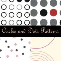 Circle Photoshop Patterns by eMelody