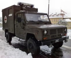 Military ambulance by Lew-GTR