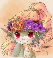 Lovely Flower by Midnameowfries