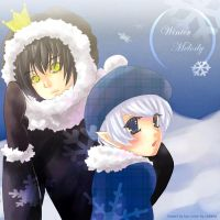 Collab : Winter Melody by cheeka-pyo