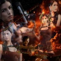 LeeAnna Vamp Wallpaper 2 Tomb Raider by AstronSoul