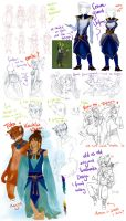Backwaters: OC Sketch Dump. by Kinky-chichi