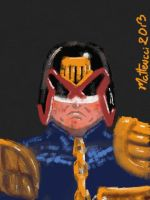Judge Dredd by MrBIGAL