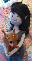 Needle Felted Marceline in Go With Me by CatsFeltLings