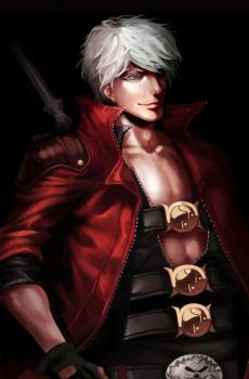Devil May Cry 4: Dante by na-insoo