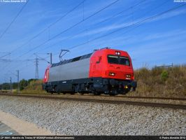 Testing CP 5605 230812 by Comboio-Bolt