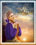 Fun Princess of flying ship by Lubov2001