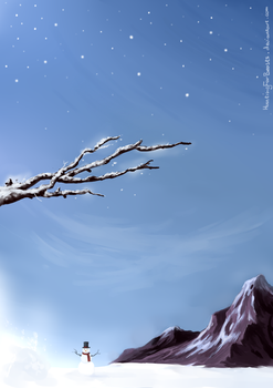 Winter (Free background) by HuntingForBeasts