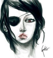 Pirate woman by bloodcult