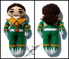 Tommy Oliver - MMPR Green Doll by jaubrey
