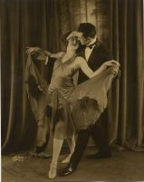 Vintage dancer couple by MementoMori-stock