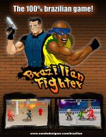 Brazilian Fighter Game Banner by nandoallam