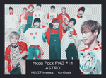 Mega Pack PNG #14 - ASTRO by YuriBlack