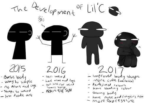 The Development of Lil'C by Shima0021