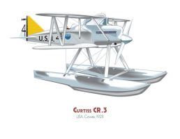 Curtiss CR.3 by MercenaryGraphics