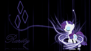 Rarity 'Elegant Abstract' Wallpaper by BlueDragonHans