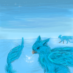 Gryphons winter ice by griffsnuff