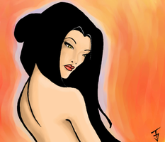 Azula...sexy....sort of..... by GodOfTheLochness