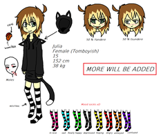 Julia New Ref 2015 by WaffIo