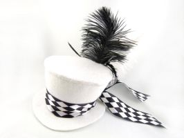 The White Queen's Mini Top Hat by angelyques