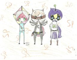 The Coon, The Kite, and The ? by skusil