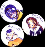 Avatar Pins by LadyProphet